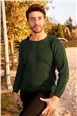 Saint  Loren Ezg404001 Green Sweater