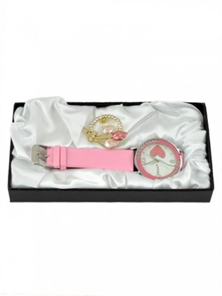 Ladies watch set and brooch 31412