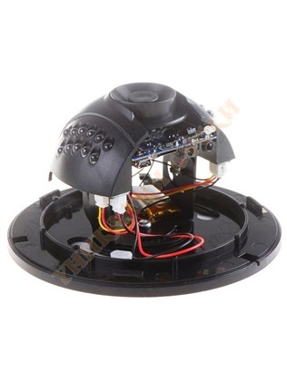 Dome camera with motion detector