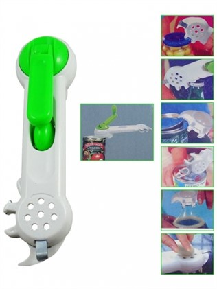 Multifunctional opener 7 in 1