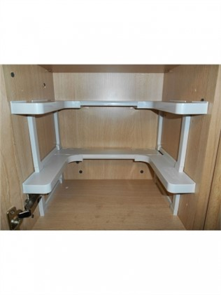 Organizer-shelf for cabinets
