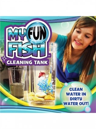 Self-cleaning aquarium