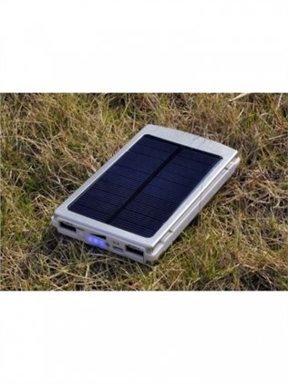 Solar charger with 10000 mAh battery