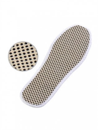Tourmaline insoles with magnet