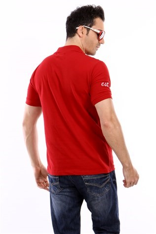 Camel Cml-0172 Bordeaux Men's T-shirt
