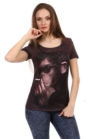 Real 3d Women T-shirt V061
