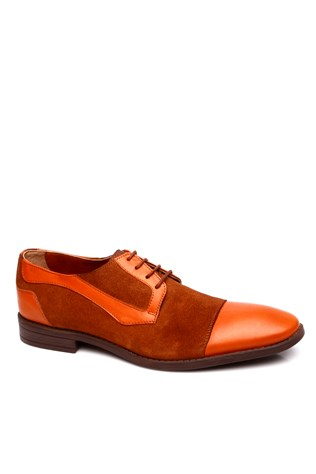 0011 Brown Suede Men's Shoe