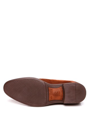 0012 Brown Suede Men's Shoe