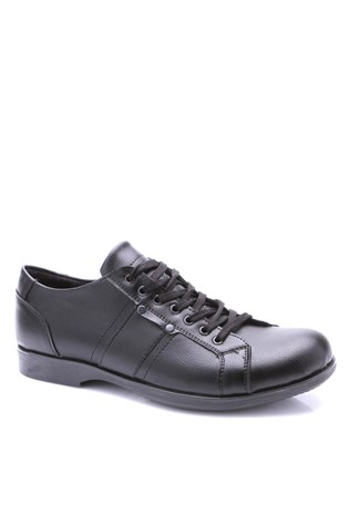 002  Black Men's Shoe