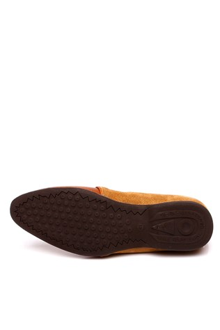0062 Coffee Brown Suede Men's Shoe