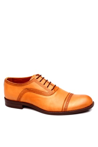 0073 Brown Men's Shoe