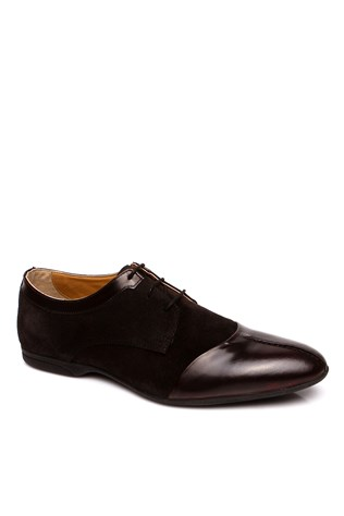 0074 Black Suede Men's Shoe