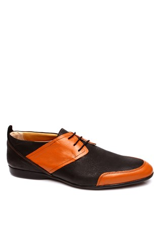 0076 Black Coffee Men's Shoe