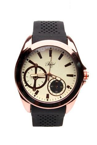 0274 Μαύρα man's watch