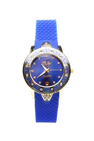 0320 Blue lady's watch