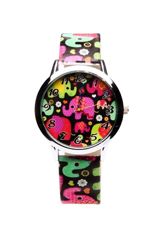 0479 patterned Lady's watch