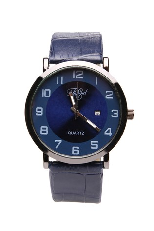 0578 Dark blue man's watch