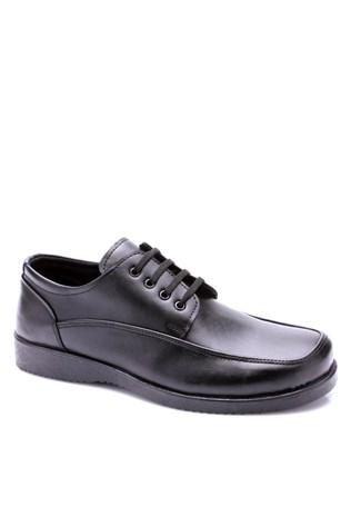 076 Black Men's Shoe