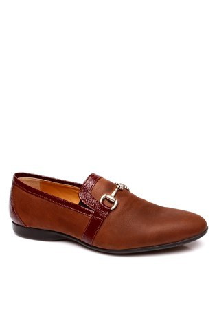 100 Brown Men's Shoe
