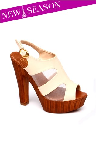 104-09-003z Beige Women's Shoe