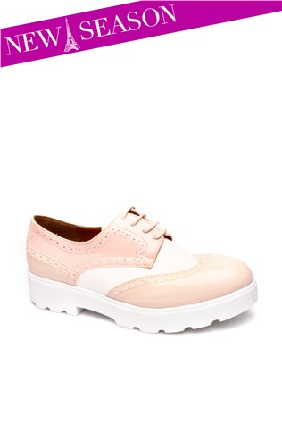 107-01-001z-White-powder Women's Shoe