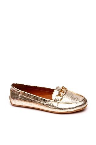 107-01-007z-Gold Women's Shoe