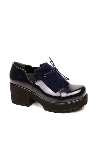 116-01-011z Dark Blue Women's Shoe