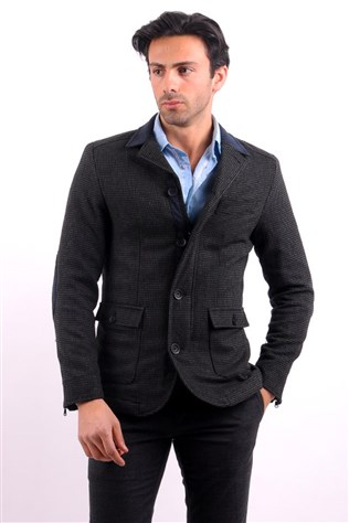 12240002 Mont 563e12240002199 Men's Grey Coat
