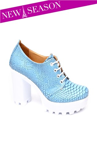 272-01-001z-Blue Women's Shoe
