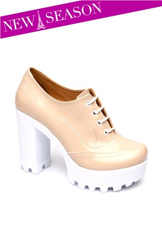 272-01-003z-Beige Women's Shoe