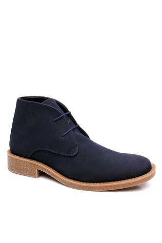 303 Σουέτ dark blue man's boot