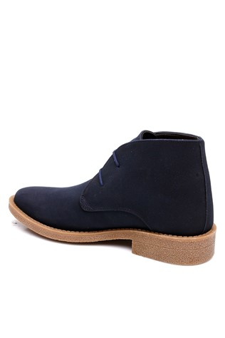 303 Suede dark blue man's boot