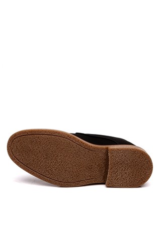 303 Suede black man's shoe