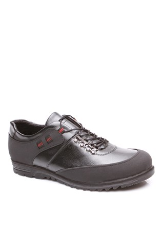 4051 Black Men's Shoe