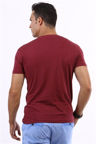 4t 00 74 Bordeaux No Country Men's T-shirt