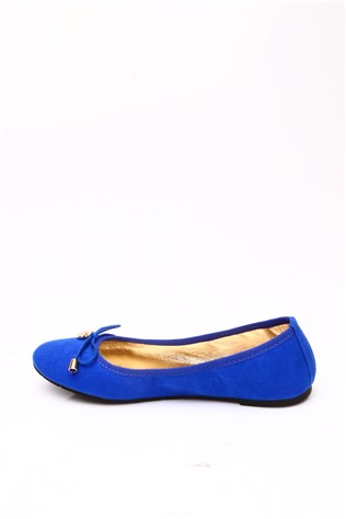 5yak21326aa Blue Suede Women's Shoe