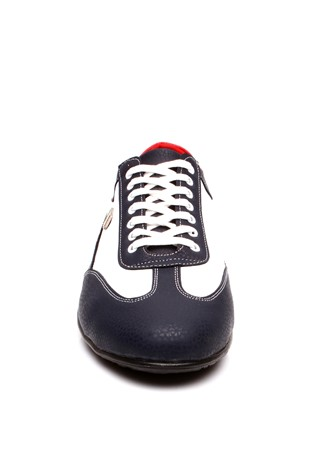 MRG 2540 White & dark blue  man's shoe