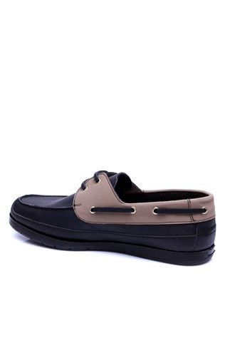 821 Black & beige man's shoe