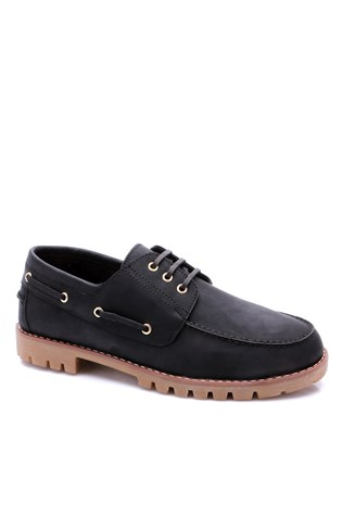 921-1 Black Men's Shoe