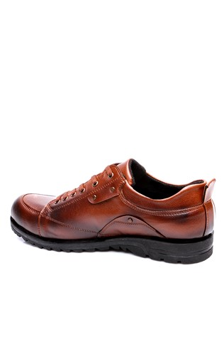 A Plus Erg 4042 Brown Men's Shoe