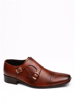 A Plus Erg 6008 Coffee Men's shoe