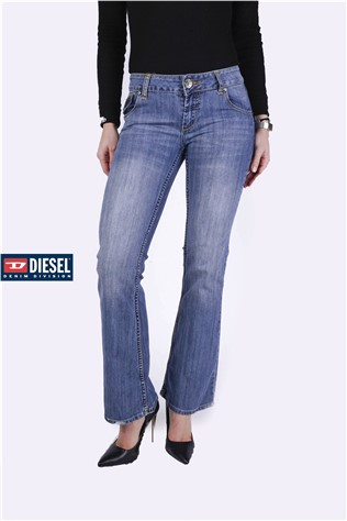 Abigal Jade 604 Medium Γαλάζιο Wash J0076FT