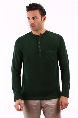 Afm 44509 Men's Green Sweater