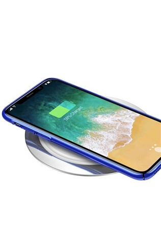 Baseus Metal Wireless Charger (silver) 734233