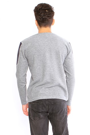 Bratti 16021 Men's Gray Sweater