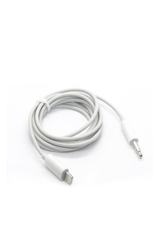 Brave Lightning To 3.5mm Audio Cable-Άσπρο 734251