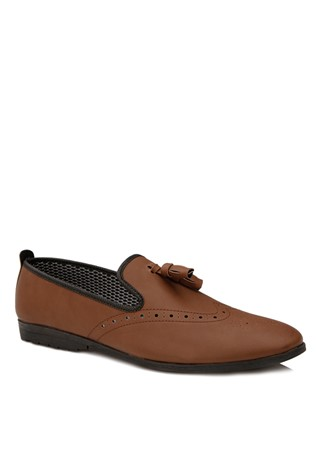 Brown Leather Moccasins 2018164