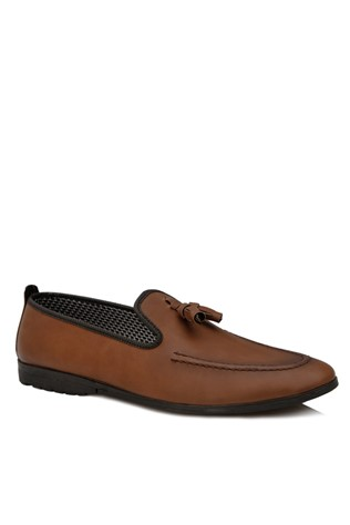 Brown Leather Moccasins 2018165