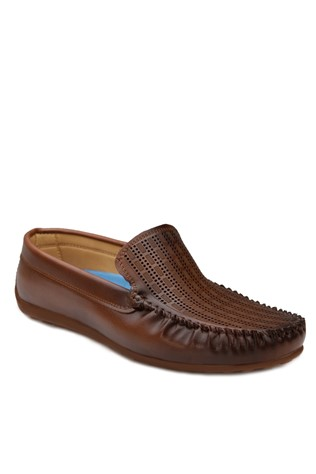 Brown Leather Moccasins 201871