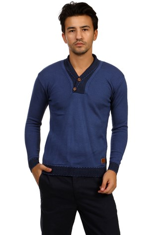 South Yacht Club Trophy 1019 Men's Blue Sweater